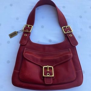 Coach legacy vintage Saddle bag